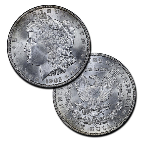 Morgan Dollars by Date (1900-1921) - Brilliant Uncirculated