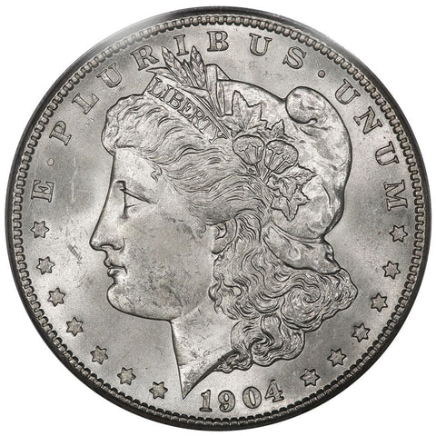 1904-S Morgan Dollar in PCGS MS 63 - Choice Brilliant Uncirculated