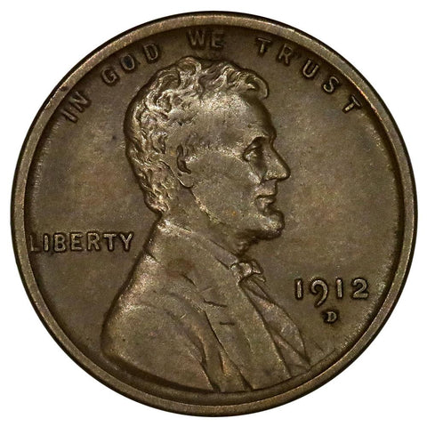 1912-D Lincoln Wheat Cent - Extremely Fine