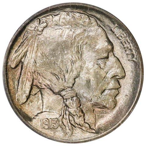 1913 Type 1 Buffalo Nickel - PCGS MS 65 - Gem Brilliant Uncirculated