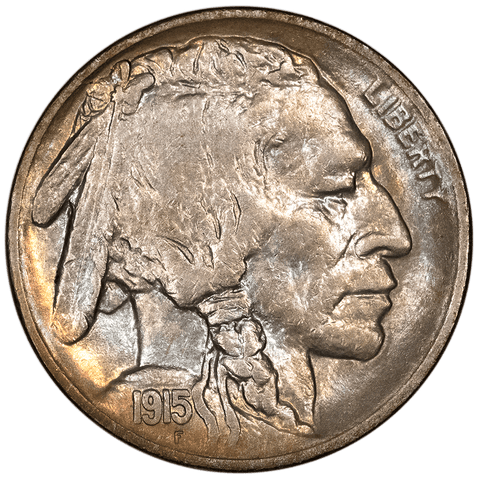 1915-S Buffalo Nickel - Choice About Uncirculated+