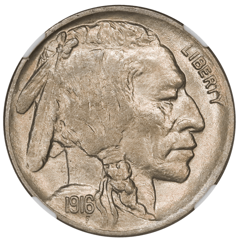 1916-D Buffalo Nickel - NGC MS 64