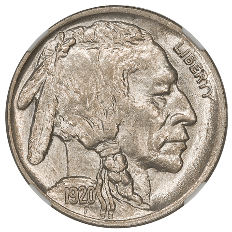 1920 Buffalo Nickel - NGC MS 63