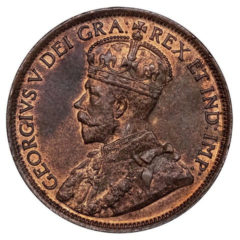 1920 Canada Large Cent KM.21 - Red & Brown Uncirculated