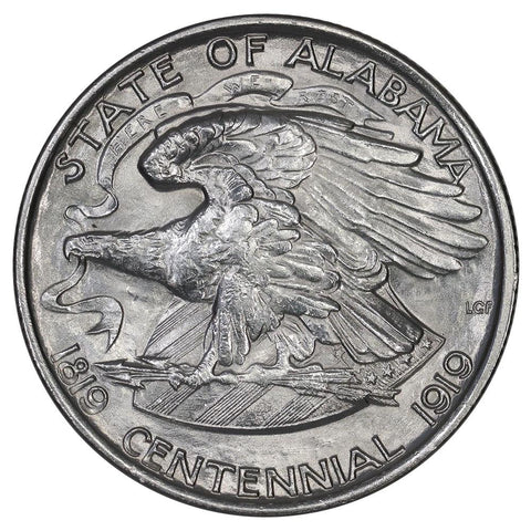 1921 Alabama Silver Commemorative Half Dollar - Brilliant Uncirculated