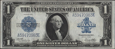 1923 U.S. Large-Size Silver Certificates, A Great Starter Note