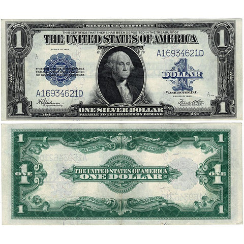 1923 $1 Large-Size Silver Certificate Fr. 237 - Choice Very Fine