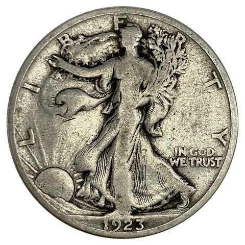 1923-S Walking Liberty Half Dollar - Very Good