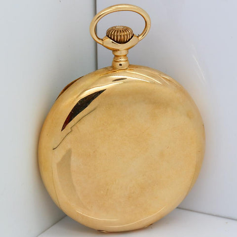 1924 Waltham Railroad Pocket Watch - Grade Crescent St, Model 1908, 21 Jewel, Size 16s