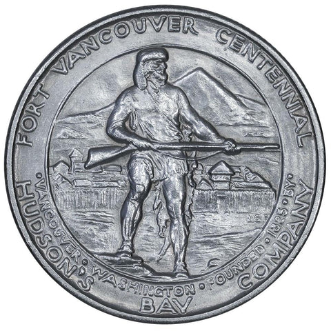 1925 Fort Vancouver Silver Commemorative Half Dollar - Brilliant Uncirculated