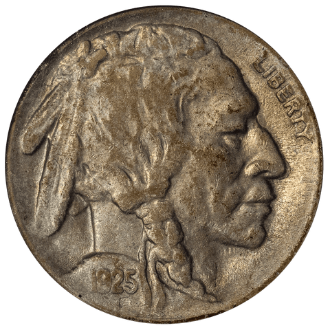 1925-S Buffalo Nickel - ANACS XF 40 - Extremely Fine