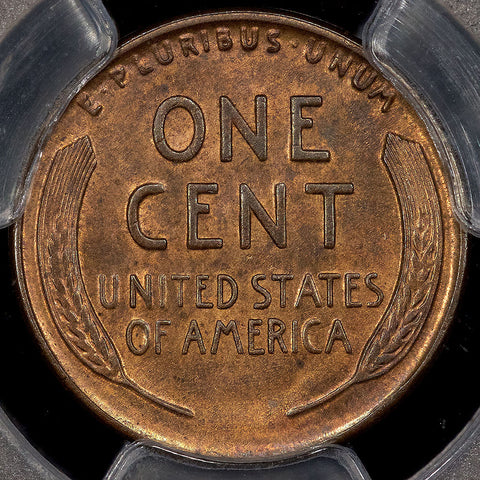 Rare 1926-S Lincoln Wheat Cent - PCGS MS 64 RB - So Tough To Find With Mint Red
