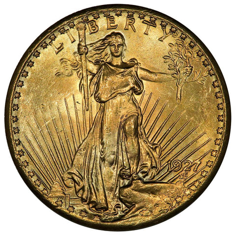 1927 $20 Saint Gauden's Double Eagle - Choice Uncirculated