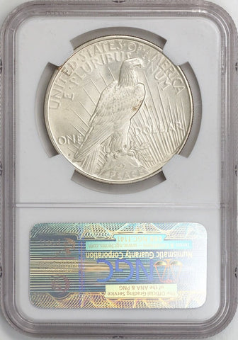Complete 1921-1934 P•D•S 24-Coin Peace Dollar Set - NGC Certified MS 61-63