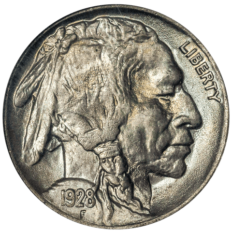 1928 Buffalo Nickel - ANACS MS 65 - Gem Brilliant Uncirculated