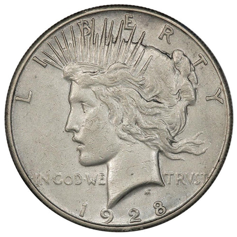 1928 Peace Dollar - Extremely Fine