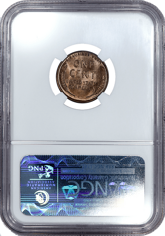 1931-S Lincoln Wheat Cent - NGC MS 63 RB