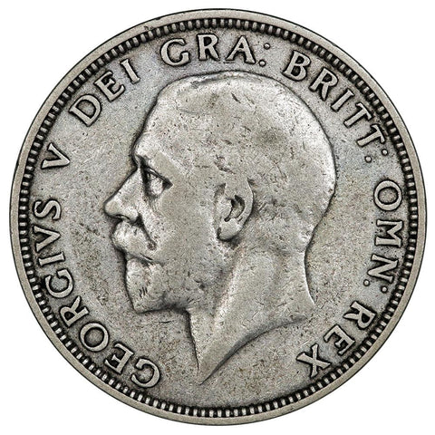 1932 Great Britain Silver Florin KM. 835 - Fine