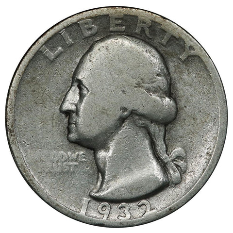 1932-S Washington Quarter - Good+