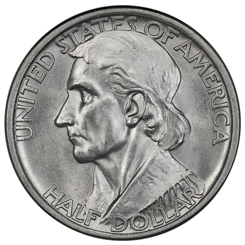1934 Daniel Boone Silver Commemorative Half Dollar - Brilliant Uncirculated