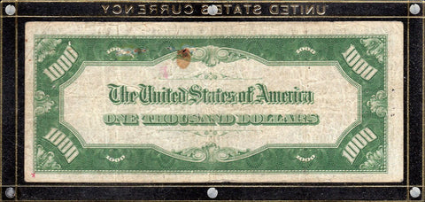 1934 $1000 Federal Reserve Note, Dallas District - Fr. 2211-K - Very Fine Details