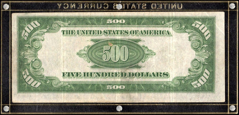 1934-A $500 Federal Reserve Note, Richmond District - Fr. 2202-E - Very Fine