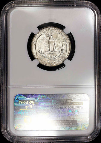 1935 Washington Quarter - NGC MS 65