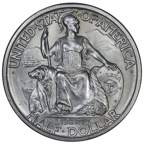 1935-S San Diego Silver Commemorative Half Dollar - Brilliant Uncirculated