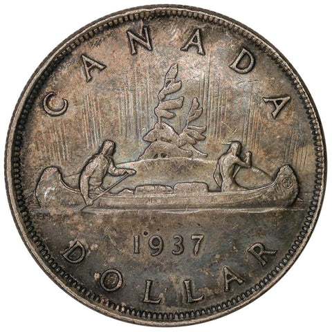 1937 Canada Silver Dollar KM.37 - Extremely Fine