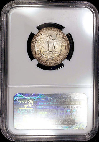1937 Washington Quarter - NGC MS 65