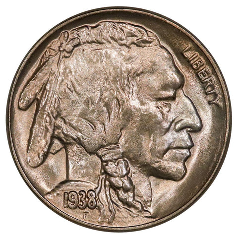 1938-D/S Buffalo Nickel - D over S OMM - Gem Brilliant Uncirculated