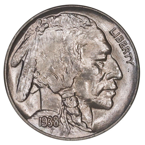 1938-D/S Buffalo Nickel - NGC MS 66 - Gem Brilliant Uncirculated