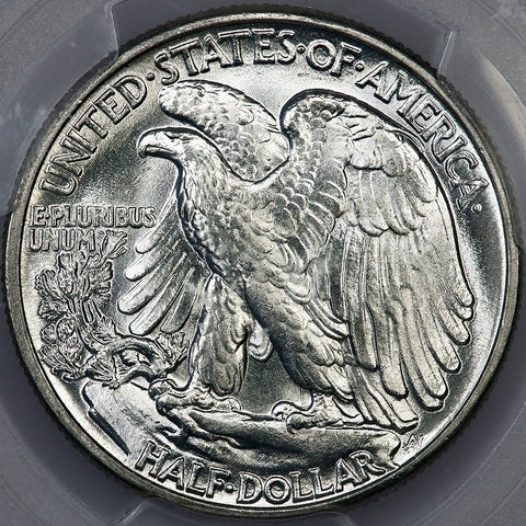 1941 Walking Liberty Half Dollars ~ PCGS MS 64+ ~ Choice Brilliant White