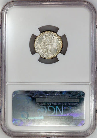 1942-D Mercury Dime - NGC MS 66 FB