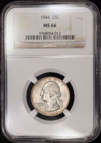 1940 Washington Quarter - NGC MS 66