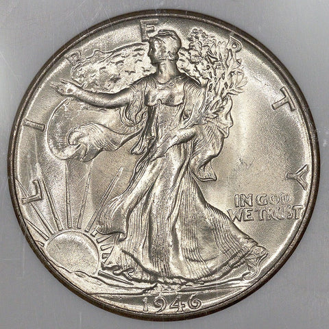 1946 Walking Liberty Half Dollar ~ NGC MS 65 ~ Nevada Silver Collection