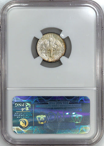 1947 Roosevelt Dime - NGC MS 65 FT (Full Torch)