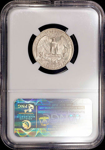 1947-S Washington Quarter - NGC MS 66