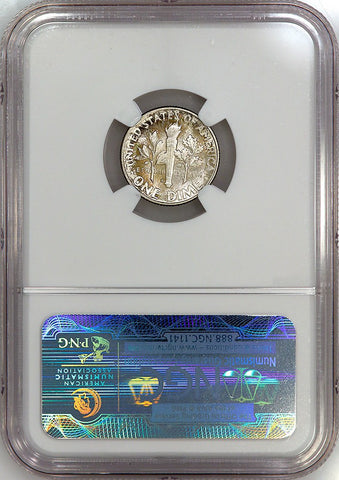 1948-D Roosevelt Dime - NGC MS 65 FT (Full Torch)