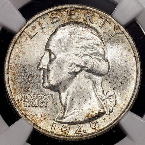 1949 Washington Quarter - NGC MS 66