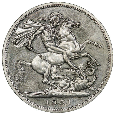1951 Great Britain 5 Shillings KM.880 - Gem Prooflike