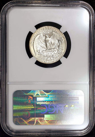 1951-D Washington Quarter - NGC MS 66