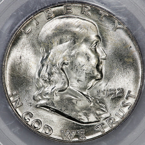 1952 Franklin Half Dollar - MS 64 Full Bell Lines