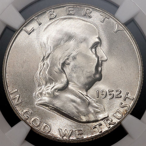 1952 Franklin Half Dollar - MS 65 Full Bell Lines / Registry Ready