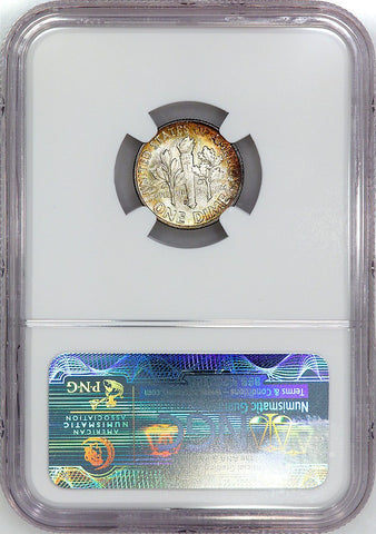1952-D Roosevelt Dime - NGC MS 65 FT (Full Torch)