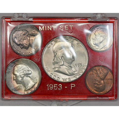 "15-Coin 1953 P-D-S ""Mint"" Set - Gem Brilliant Uncirculated"
