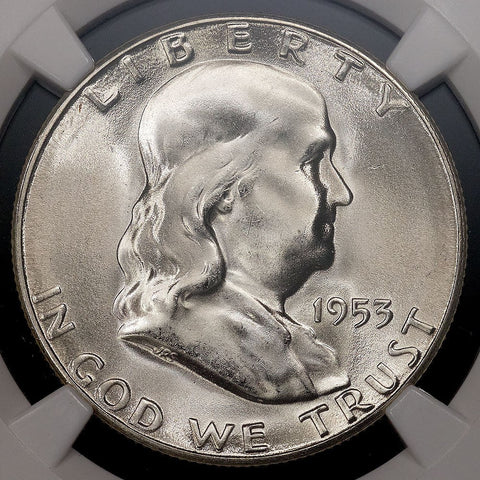 1953-S Franklin Half Dollar - MS 66 / Registry Ready