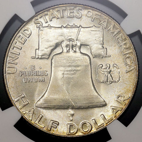 1954 Franklin Half Dollar - MS 65 FBL Full Bell Lines / Registry Ready
