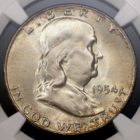 1954-D Franklin Half Dollar - MS 65 FBL Full Bell Lines / Registry Ready