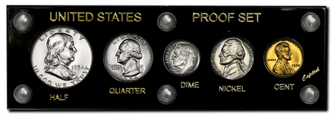 1954 U.S. Proof Set - Premium Quality Brilliant Proof